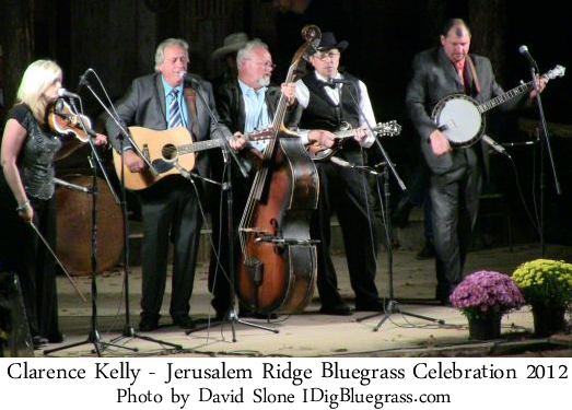 Clarence Kelly & Nu-Cut Road at the Jerusalem Ridge Bluegrass Celebration