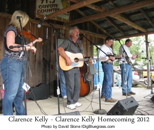 Clarence Kelly & Nu-Cut Road at the Clarence Kelly Homecoming Bluegrass Festival